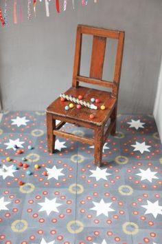 Carreaux de ciment à motifs colorés - Petit Pan