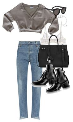 """Untitled #21140"" by florencia95 ❤ liked on Polyvore featuring La Perla, Yves Saint Laurent and Chupi"
