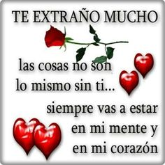 85 Mejores Imagenes De Te Extrano Love Spanish Quotes Y Thoughts