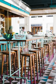 A corner of Singapore is going Super Loco for the fast food of rustic old Mexico diners… http://www.we-heart.com/2015/02/05/super-loco-robertsons-quay-singapore/