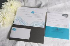 Island Letterpress Wedding Invitations by LilikoiLetterpress, $265.00