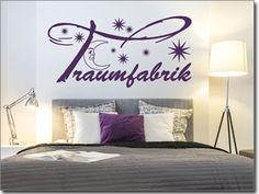 Sprüche und Motive als Wandtattoo für Schlafzimmer
