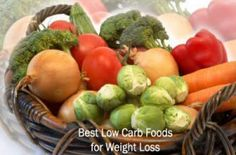 Weight Loss Foods : Best Low Carb Foods for Weight Loss