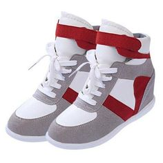 High Quality Fashionable Contrast Color Sneaker Sneakers from fashionmia.com