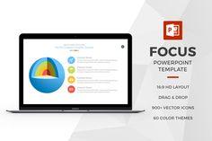 Focus Powerpoint Template by Slidedizer on Creative Market
