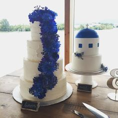 cool vancouver wedding These cakes from @pinkribbonbakery   #vancouverwedding #vancouverwedding