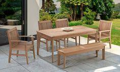 Conjunto com mesa, cadeira e banco para o Jardim. Clique na imagem para saber mais.