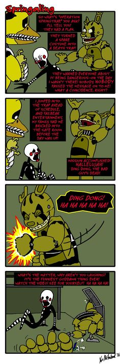 Springaling 139: Tell me about the rabbits, George by Negaduck9.deviantart.com on @DeviantArt