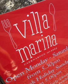 Villa Marina Signage