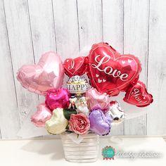 LOVE BEAR ウェディングベアーズ Table top type - Chubby Balloon フリンジバルーンとおしゃれなバルーン電報のことならチャビーバルーン 大阪北堀江バルーンショップ