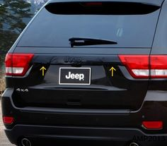 Jeep Grand Cherokee Altitude Blacked Out Rear Panel