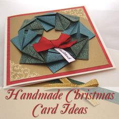 Simply Beautiful and Elegant Homemade Christmas Card Ideas for Adults to Enjoy Making Craft DIY Handmade Festive Holiday Season Homemade Christmas Cards, Handmade Christmas, Holiday Cards, Hobbies And Crafts, Crafts To Make, Crafts For Kids, All Things Christmas, Christmas Holidays, Christmas Crafts