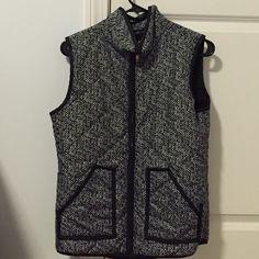 J Crew herringbone excursion vest lookalike J crew lookalike. Only worn one! Like new condition! J. Crew Tops