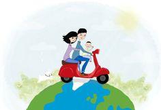 familia motorizada por Muchochupchup