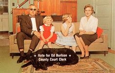 Horrible second thoughts. (Funny bad retro election ads)