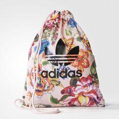 bcd79e01d2 adidas - Floral Gym Sack Adidas Farm