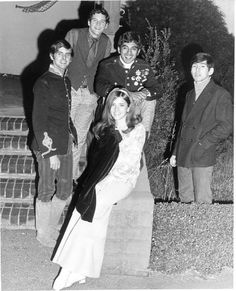 Stevie Nicks & Lindsey Buckingham with their first band, Fritz