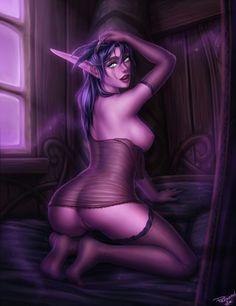 World of Warcraft leszbikus pornó