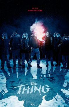The Thing Movie Poster. Horror Movie Characters, Cult Movies, Scary Movies, Horror Films, Awesome Movies, Famous Movies, Horror Stories, The Thing Movie Poster, Movie Poster Art