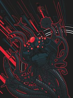 Sentinel Squiddy by Peter Gutierrez