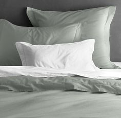 Garment-Dyed Percale Duvet Cover | Duvet Covers | Restoration Hardware