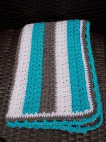 Renate's Haken en zo: Babydekentjes Learn To Sew, Learn To Crochet, Diy Crochet, Crochet Blanket Patterns, Baby Blanket Crochet, Crochet Baby, Crochet Afghans, Crochet Blankets, Crochet Projects