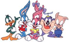Did someone say Tiny Toons? Famous Cartoons, Retro Cartoons, Classic Cartoons, Cool Cartoons, Cartoon Kids, Cartoon Art, Classic Cartoon Characters, Disney Characters, Disney Pixar