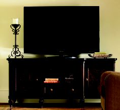 Wow, cool TV console from Carolina Rustica. It is the Tommy Bahama Royal Kahala Maui Entertainment Console LX-0537-907