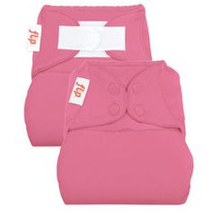 FOR SALE - Flip Diapers - Diaper Cover in 'Zinnia' - The Flip One Size Diaper Cover is the heart of the Flip Diaper System. It has options to meet the needs of every family and every situation. Use it with Flip inserts, prefold diapers, or your favorite fitted. $14.95