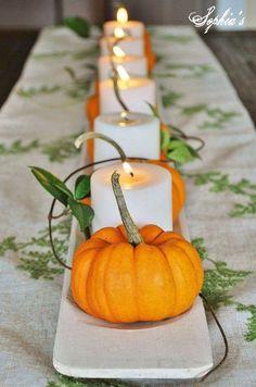 10 prachtige zelfmaak ideetjes voor op tafel deze herfst! - Pagina 3 van 10 - Zelfmaak ideetjes