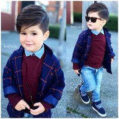 27 Little Smart Boys Kids Fashion Boy, Toddler Fashion, Men's Fashion, Toddler Boy Outfits, Kids Outfits, Baby Outfits, Toddler Dress, Baby Dress, Kids Wear Boys