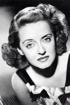 Bette Davis (April 5, 1908 - October 6, 1989) - born Ruth Elizabeth Davis in Lowell, Massachusetts.  Associated filmography:  Of Human Bondage (1934)  The Great Lie (1941)  Now, Voyager (1942)  Mr. Skeffington (1944)  All About Eve (1950).