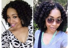 Crochet braids with Marley twist hair