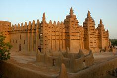 Mosque of Djenné, via Flickr.