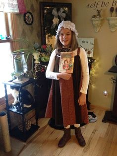 1000 images about book character costumes on pinterest for Laura ingalls wilder wedding dress