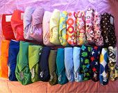 All-in-One Cloth Diaper - Bulk Discounts available!!! - Velco or Snaps