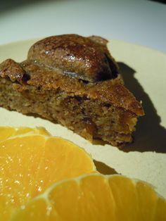 food and fairies: Mandel-appelsin-abrikos kage uden gluten og tilsat sukker.