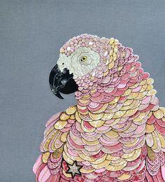 Текстильный авиариум: потрясающие работы Zara Merrick - Ярмарка Мастеров - ручная работа, handmade