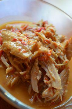 Crock pot thai peanut pork