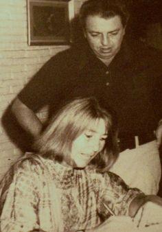Jorge Ibarguengoitia y Joy Laville. Their wedding. 1973.