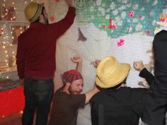 The Bubble Wrap Room: an interactive installation @ 23HAM: http://www.facebook.com/AndreinaArt