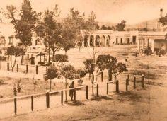 Antiguo pueblo de Tlalnepantla en 1890.