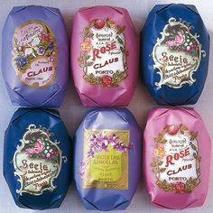 Claus Porto Floral Soaps