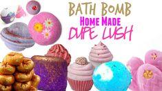 ✮ DIY ✮ Dupe Lush Bombes de bain ✮ Bath Bomb  | Caly Beauty
