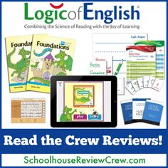 @Logic of English uses multi-sensory methods to teach phonemic awareness, systematic phonics, vocabulary development, fluency, spelling, handwriting and reading comprehension. #homeschool #phonics #reading #hsreviews
