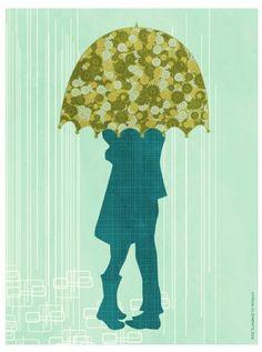 nowthatithinkofit... » Umbrella by Frida Clements