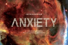 Anxiety Font by Drizy on @creativemarket