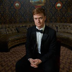 Steven Boyer at the TodayTix Tony Awards photo lounge at the O&M after-party at The Carlyle. Photo by Amy Arbus.