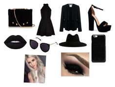 """Black Day"" by marianaraposo on Polyvore featuring art"