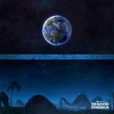 Have a dino-mite Asteroid Day. Kid Movies, Disney Movies, Disney Pixar, Animated Movie Posters, The Good Dinosaur, Walt Disney Studios, Film Serie, Classic Films, Jurassic Park